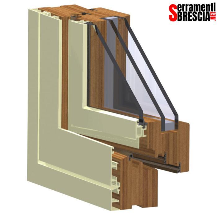 serramenti in legno alluminio