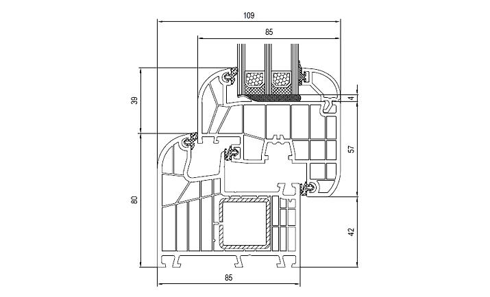Serramenti in pvc alluminio serramenti brescia net - Dimensioni standard finestre ...
